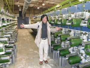 人工芝工場訪問